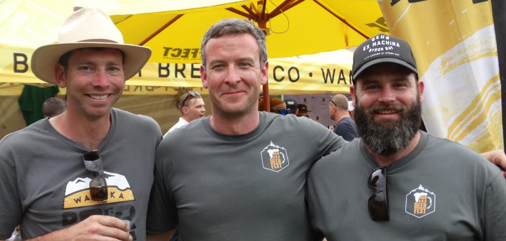 The rain held off, the people streamed in, and beer was poured at Saturday's Wanaka Beer Festival...