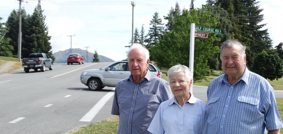 The design of this intersection at Golf Course Rd and McDougall St could lead to tragedy,...