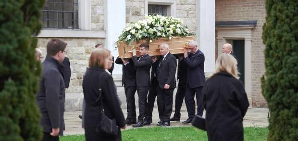 The funeral for the murdered backpacker took place at the cathedral in Brentwood. Photo: Echo via NZ Herald