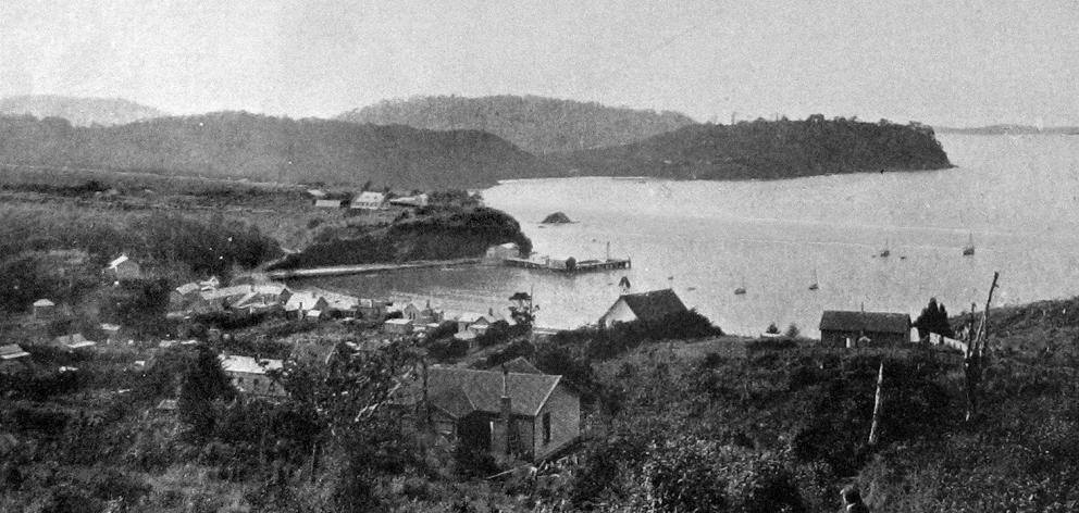 Oban, Half Moon Bay, Stewart Island. — Otago Witness, 1.1.1919.
