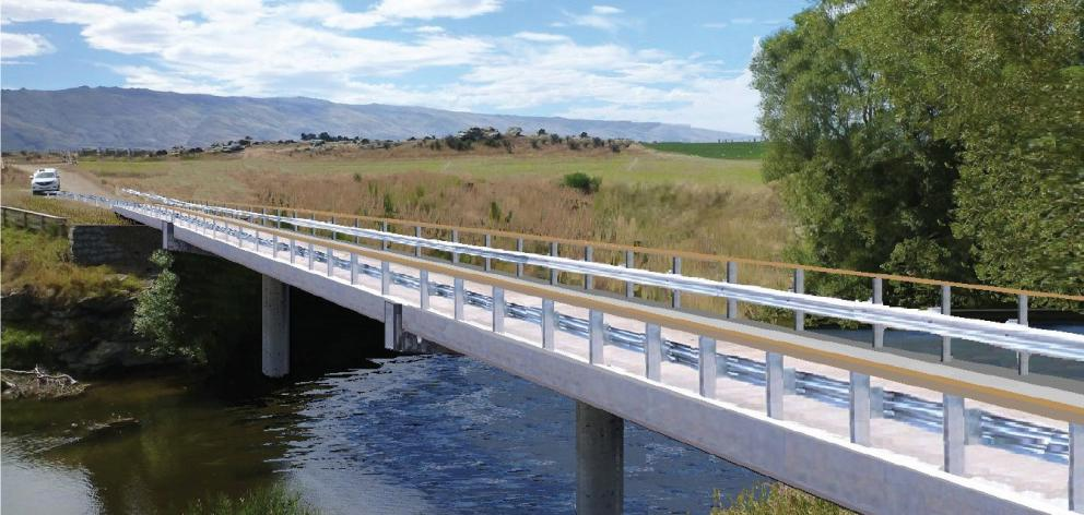 The proposed new Sutton-Mount Ross Rd bridge. Photo: Supplied
