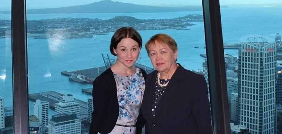 Yelena Khalevina (left) and her mother, Vera Knyukh, have been trying to get a parent visa since 2016. Photo: Supplied via NZ Herald