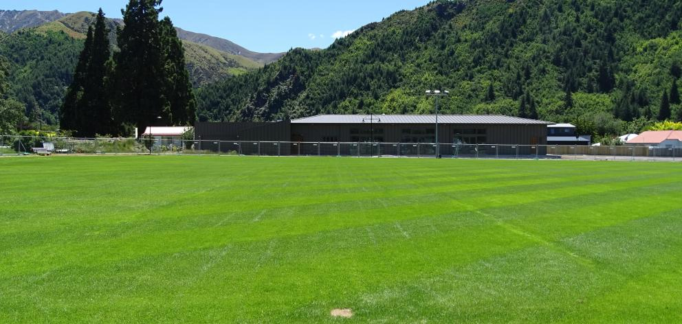 The new Arrowtown Community Centre at Jack Reid Park which will be officially opened next weekend...
