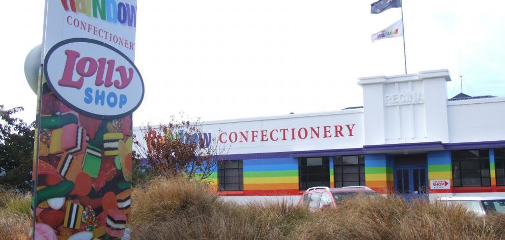 Rainbow Confectionery Ltd's Oamaru factory. PHOTO: SALLY RAE