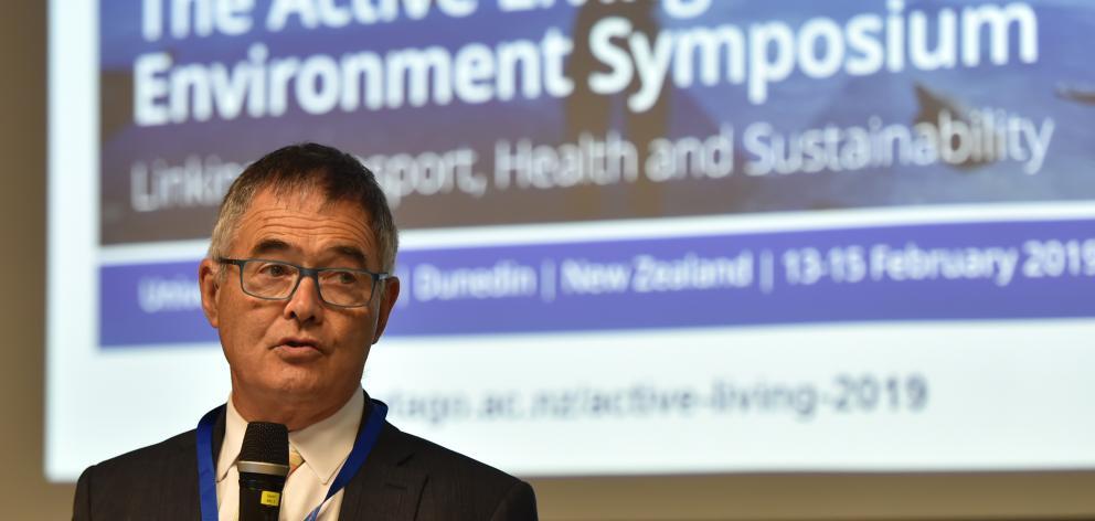 Dunedin Mayor Dave Cull advocates healthier forms of transport. Photo: Gregor Richardson