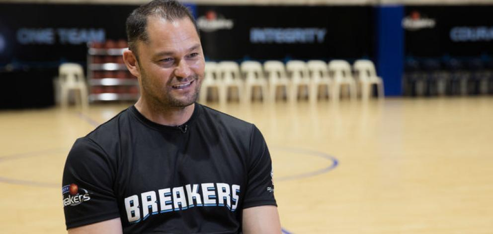 Breakers assistant coach Judd Flavell. Photo: RNZ / Claire Eastham-Farrelly