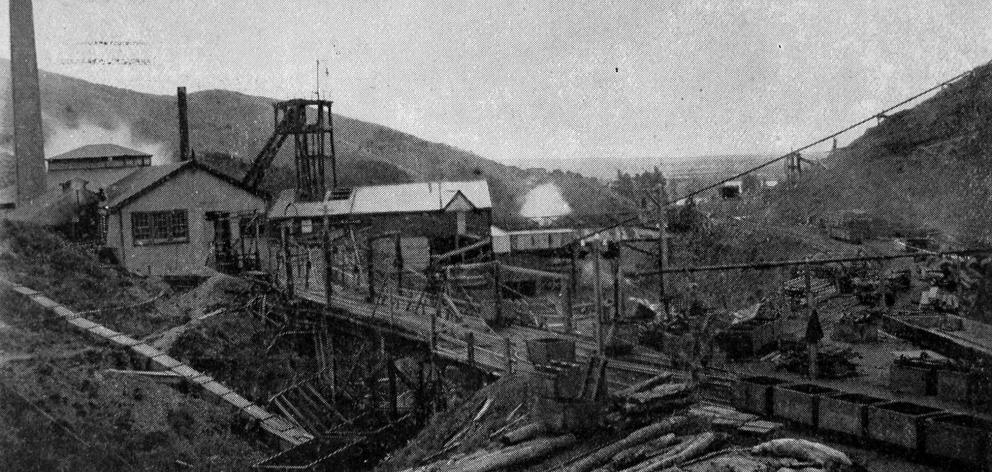 Kaitangata Coal Mine, November 15, 1905, 26 years after a tragic explosion that killed 34 men and...