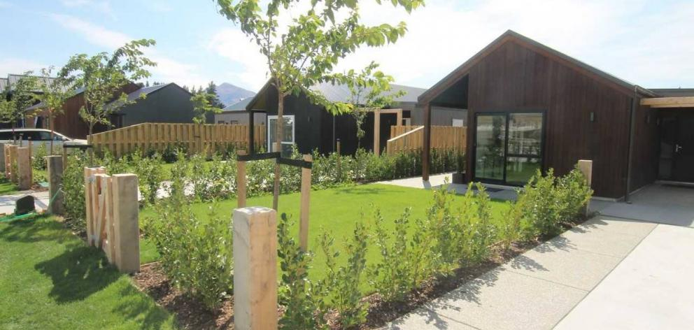 One of the finished KiwiBuilds at Wanaka. Photo: Supplied