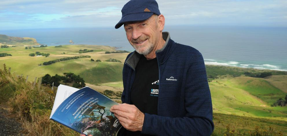 Forum member and environmentalist Neville Peat was pleased with the final proposals. Photo:...