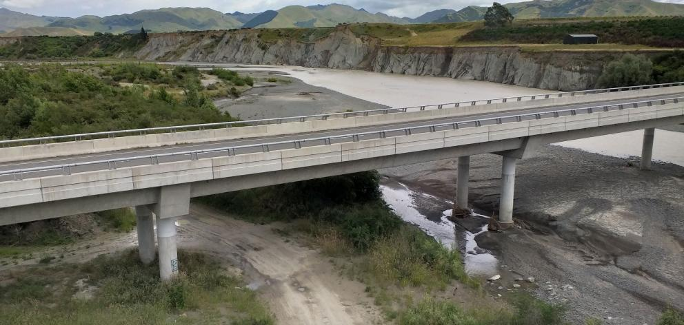 One of the new bridges on SH1.