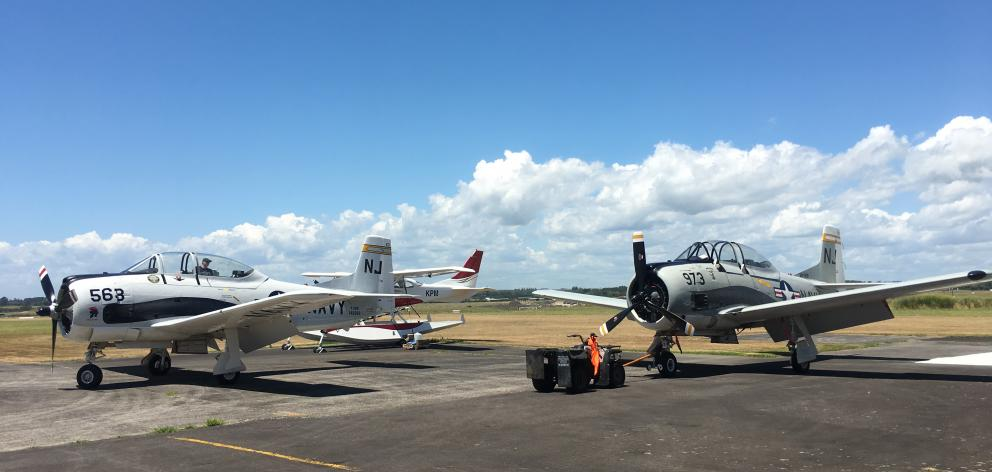 Warbirds Over Wanaka will host the first major display of two Trojan aircraft flying together at...
