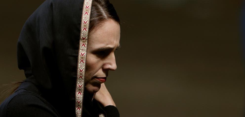 New Zealand Prime Minister Jacinda Ardern donned a hijab following the Christchurch terror attacks. Photo: Reuters