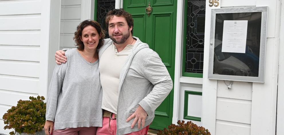 David和Jacqueline Burt正在达尼丁Filleul街的新家和餐厅Bracken定居。照片:Craig Baxter