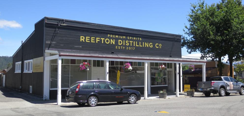 Reefton head-turner the Reefton Distilling Company.
