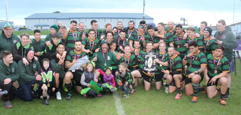 Marist claimed its second Galbraith Shield title in as many years on Saturday with a 38-13 win...