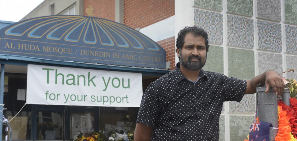 Otago Muslim Association chairman Mohammed Rizwan is helping to organise a public open day at Al Huda mosque in Dunedin on Sunday, to thank the community for its support. Photo: Gerard O'Brien