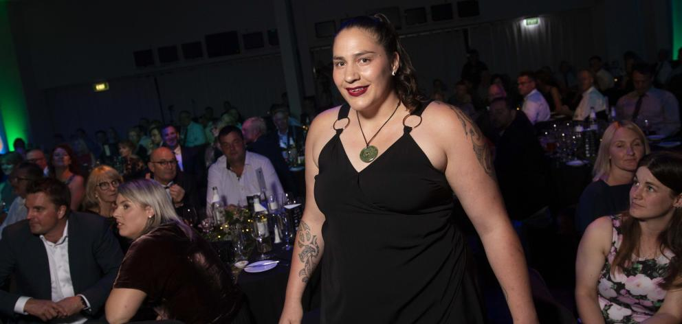 New Zealand Rural Sportswoman of the Year Pagan Karauria. PHOTO: NORWOOD NEW ZEALAND RURAL SPORTS...
