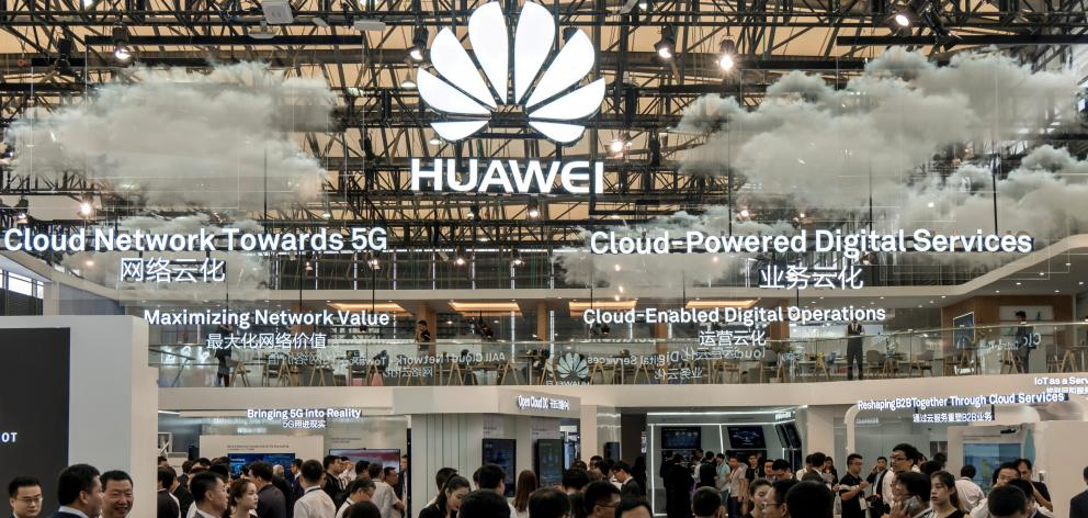 Chinese company Huawei is aiming to become the world's top mobile phone supplier. Photo: Reuters