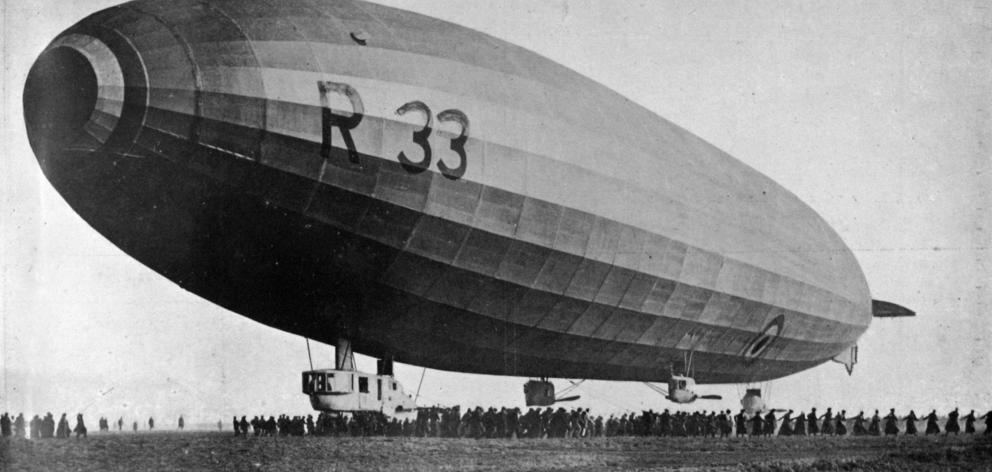 Britain's largest airship, launched in March 1919, is regarded as the most successful Zeppelin...