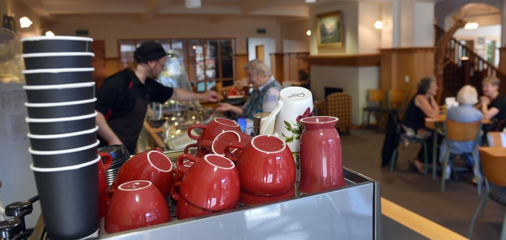The community cafe at Ross Home.PHOTO: PETER MCINTOSH