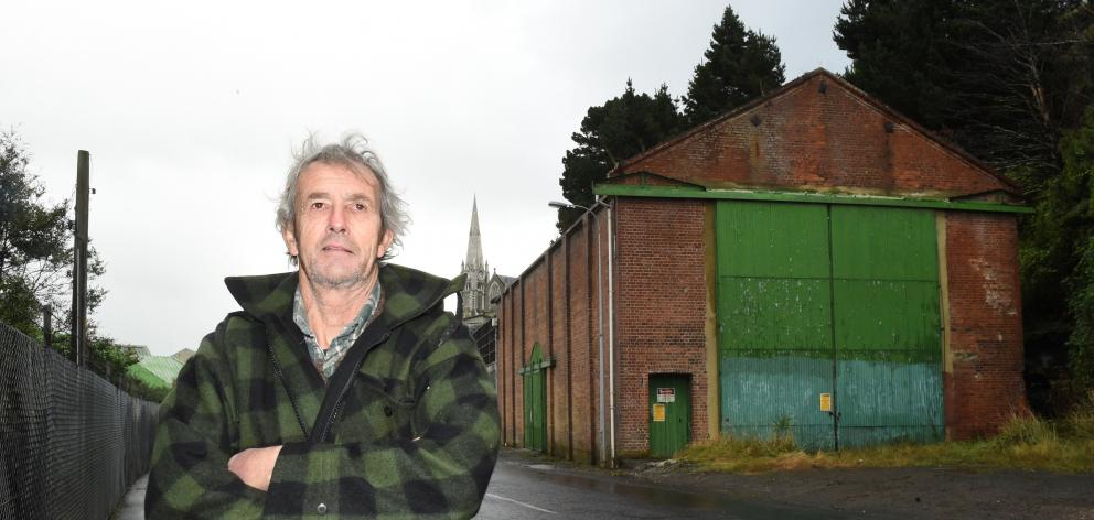 Bill Brown is urging the Dunedin City Council to step in and save the former Sims Engineering and...