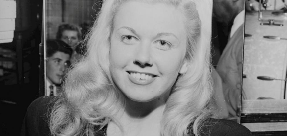 Doris Day in New York in 1946. Photo: Library of Congress/Handout via Reuters
