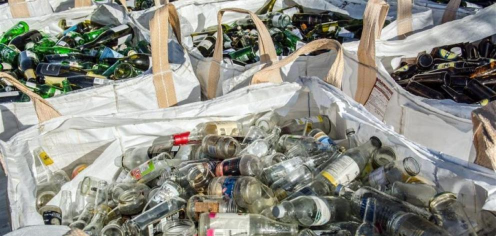 Some 36 tonnes of glass from residential properties is sent to landfill each week – about 1870...