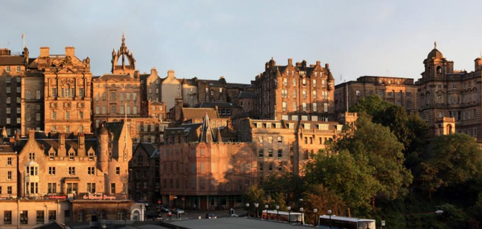 Edinburgh's Old Town. Photo: Wikipedia