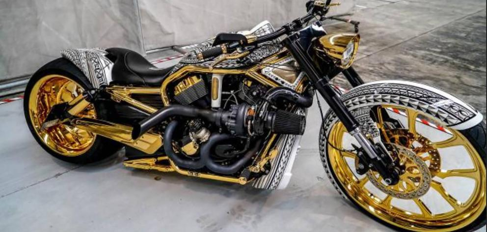 Four Harley Davidson motorcycles with personalised plates were restrained in Operation Nova....