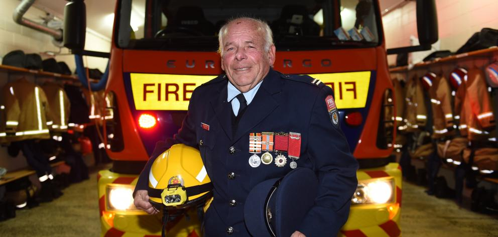 Portobello Volunteer Fire Brigade stalwart Russel Partel, is moving into a support role after 50...