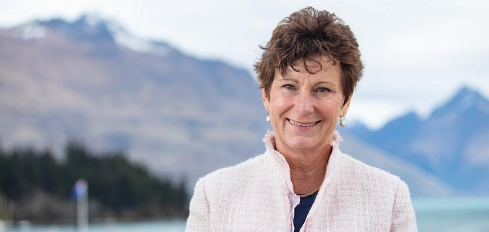 Jan Hunt is delighted she's now chairing Skyline's board. Photo: Mountain Scene
