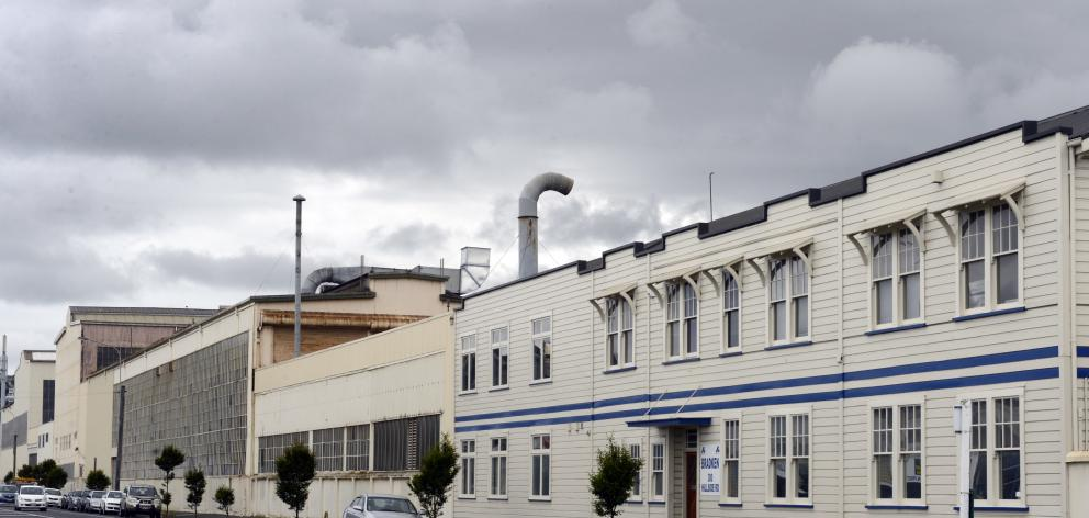 Hillside workshops in South Dunedin. Photo: ODT