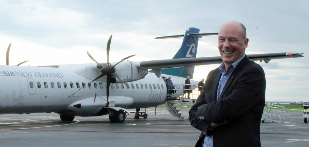 Invercargill Airport general manager Nigel Finnerty sees Invercargill as a ready-made solution to...