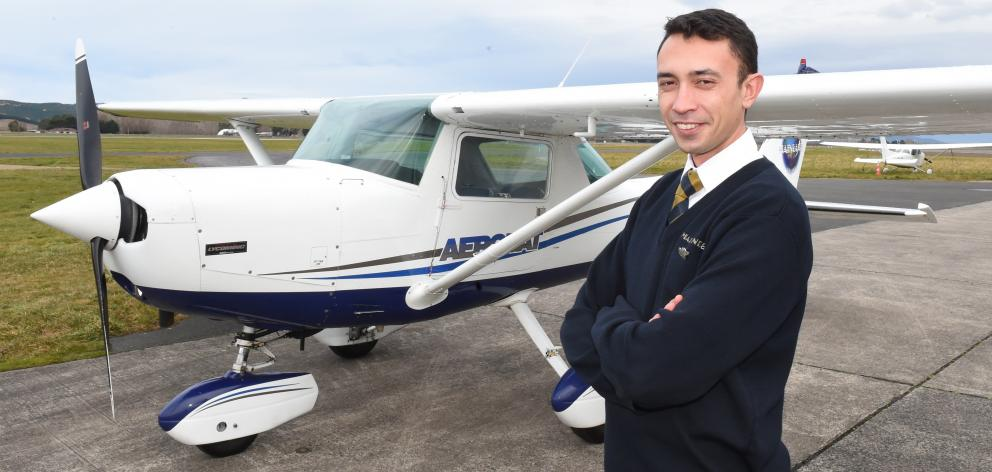 Jordan Kean had become the youngest person in the country to hold the top rating for flight...