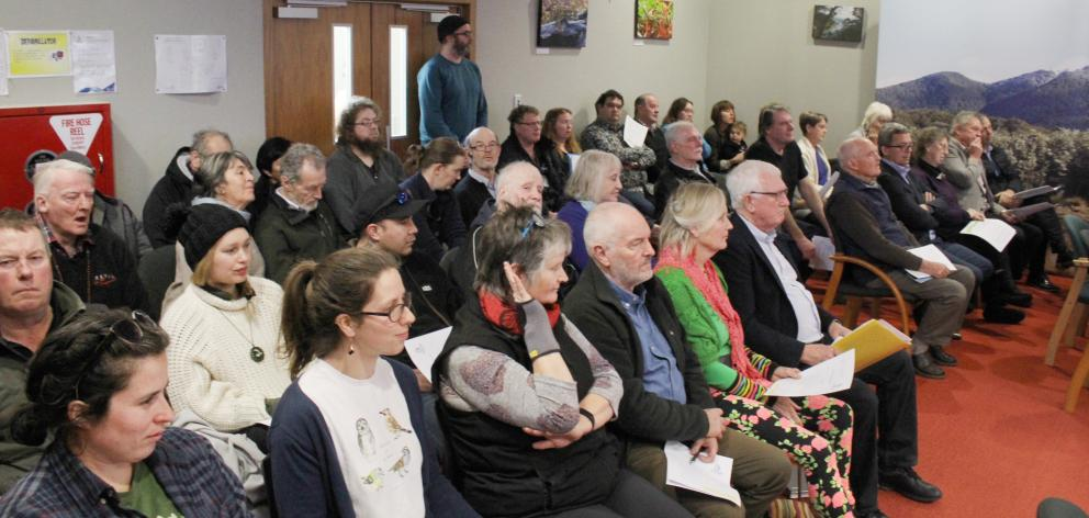 It was a full house at Environment Southland's full council meeting in Invercargill yesterday when councillors voted on whether they would declare a climate emergency