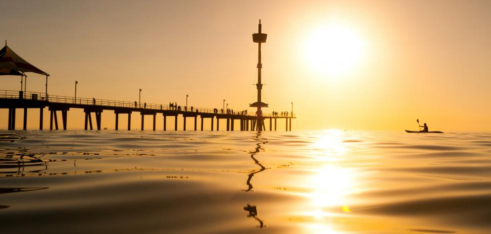The unforgettable jetty at Brighton Beach. PHOTOS: SOUTH AUSTRALIAN TOURISM COMMISSION/VINO LOKAL...