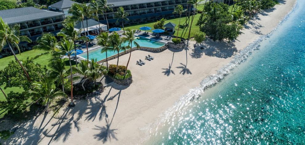 Shangri-La Resort & Spa is Fiji's largest resort. PHOTOS: SUPPLIED