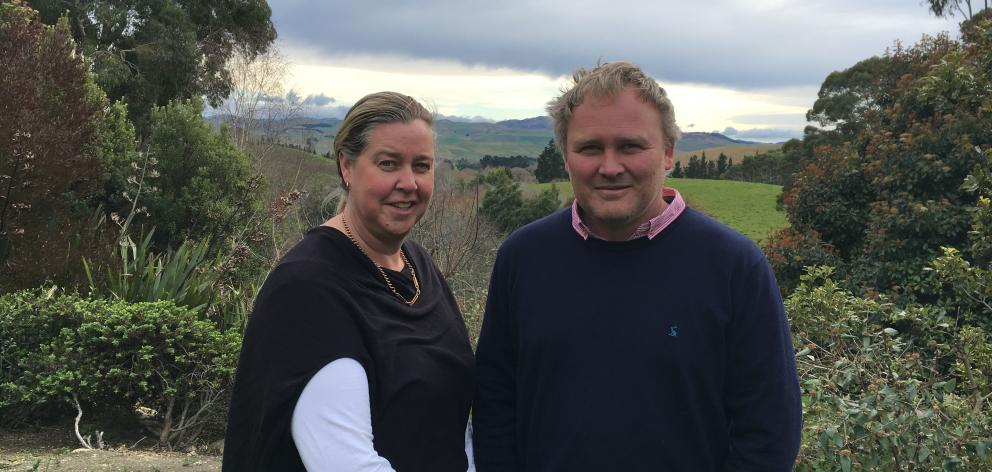 North Canterbury farmers Katrina and Chris Herbert are looking forward to the New Zealand Agricultural Show in Christchurch in November. They say agricultural shows are essential to maintaining connections with urban communities.  Photo: David Hill