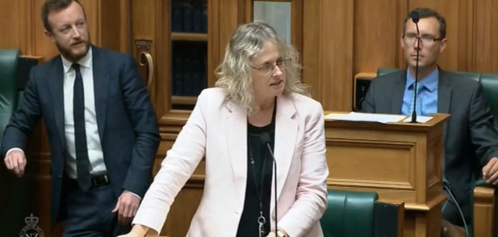 Invercargill Labour list MP Liz Craig questions Educations Minister Chris Hipkins in Parliament...