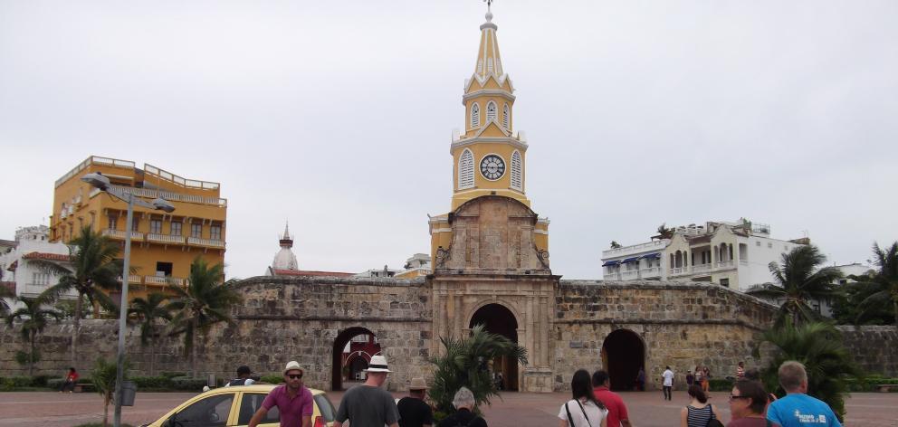 Torre del Reloj in Cartagena.