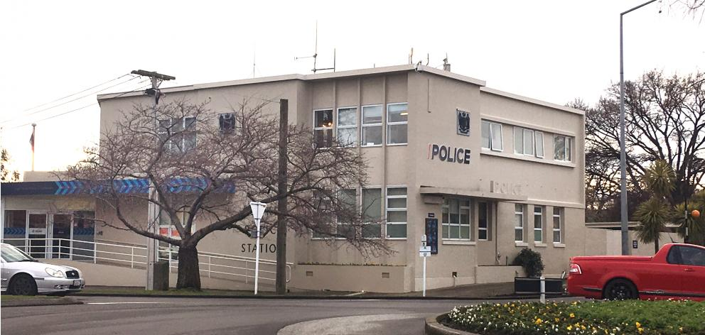 Gore Police Station.  Photo: Laura Smith