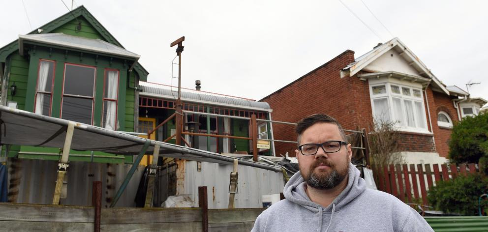 Ronnie Proctor is unhappy with the response of the Dunedin City Council after his neighbour's...