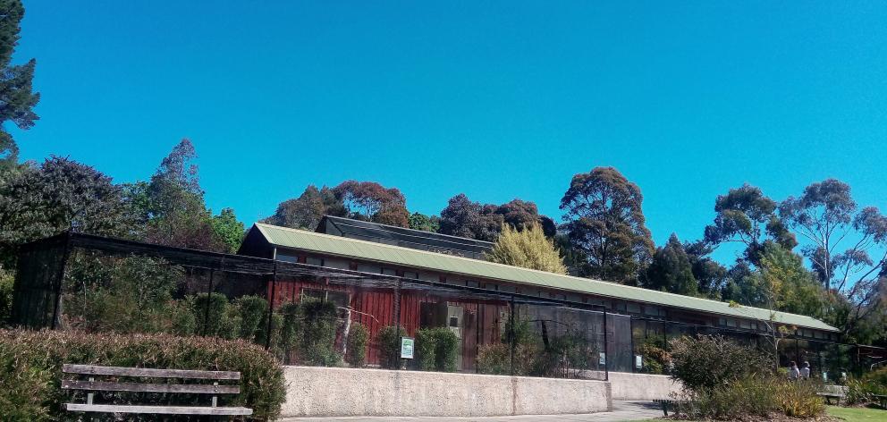 The aviary at Dunedin Botanic Gardens. Photo: Supplied