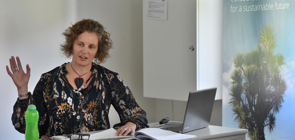 GNS Science senior natural hazards planner Dr Wendy Saunders. PHOTO: GREGOR RICHARDSON