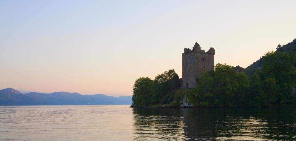 Urquhart Castle on shores of Loch Ness, the home of the fabled monster. Photo: Getty