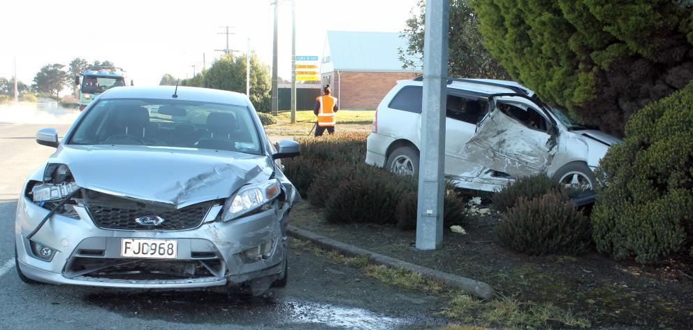 Two-car crash in Southland | Otago Daily Times Online News