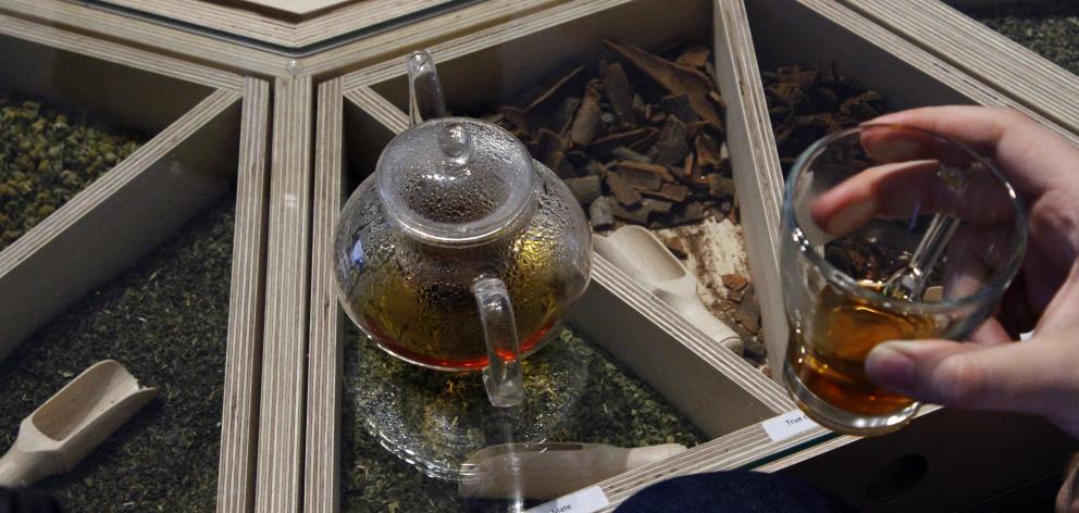 Paje Curumim the communal tea station will be set up at Dunedin Public Art Gallery.