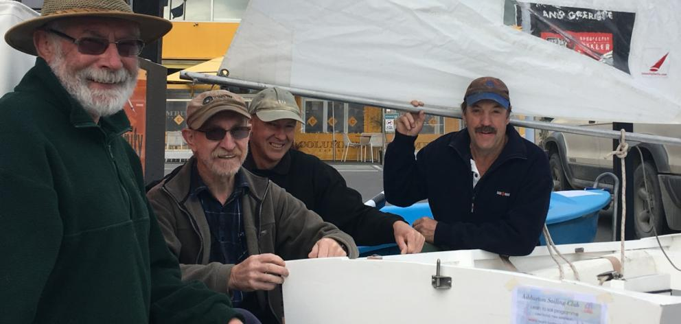 Ashburton Sailing Club members Selwyn Sloan, Chris Thompson, Chris Lovelock and Geoff Swan have,...