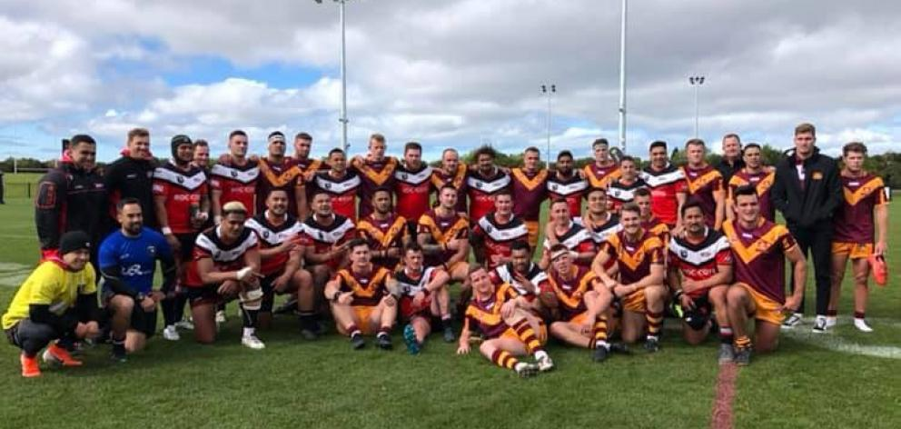 The Canterbury Bulls overcame New South Wales Country 17-16 at Nga Puna Wai on Saturday. Photo: Canterbury Rugby League