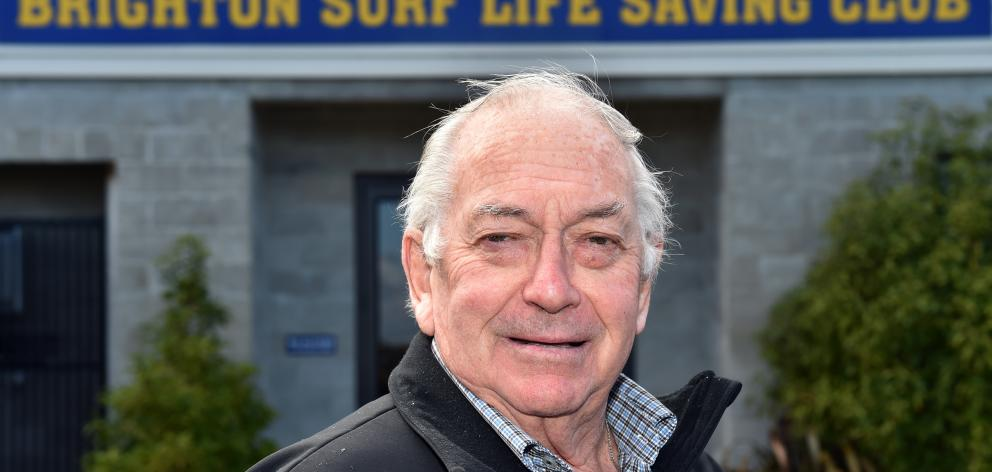 Colin Weatherall has been made a life member of Surf Life Saving New Zealand after nearly 50 years of involvement in the sport. Photo: Gregor Richardson